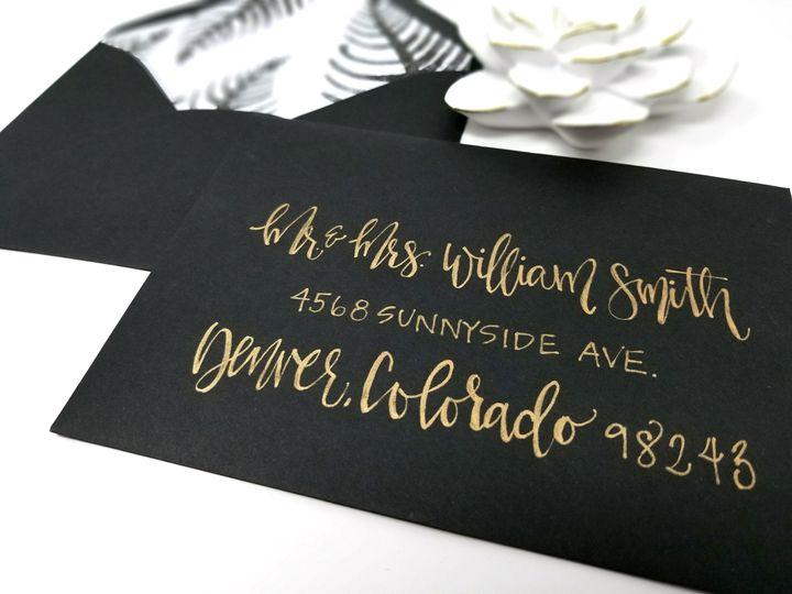 Tmx 1519445188 03cdda5c5dbde4ff 1519445186 579dd8a54ef7727e 1519445180429 4 BlackWhiteWatercol Seattle, Washington wedding invitation