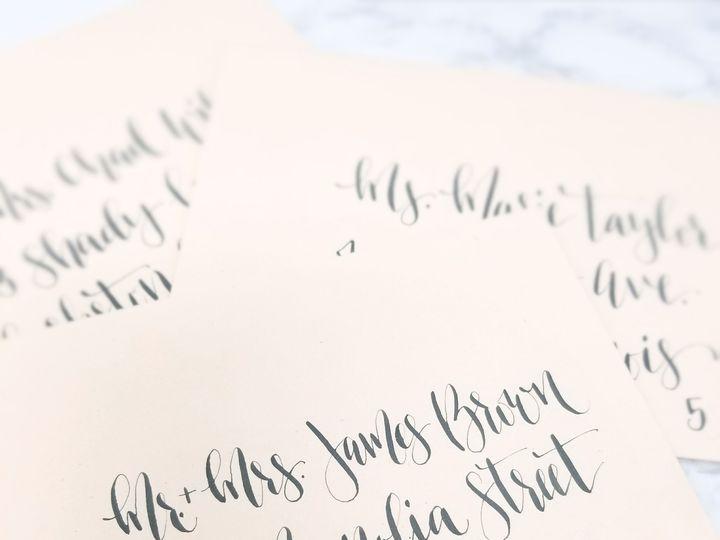 Tmx 1519445210 E8c0fd53658cf339 1519445208 D42198455655dc51 1519445206194 5 BlushEnvelope Grey Seattle, Washington wedding invitation
