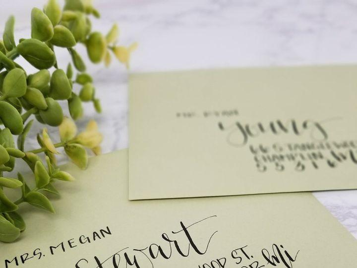 Tmx 1519445776 3bf1f73030777d92 1519445774 Aa6954ef035c41c4 1519445763395 11 GreenEnvelope Bla Seattle, Washington wedding invitation
