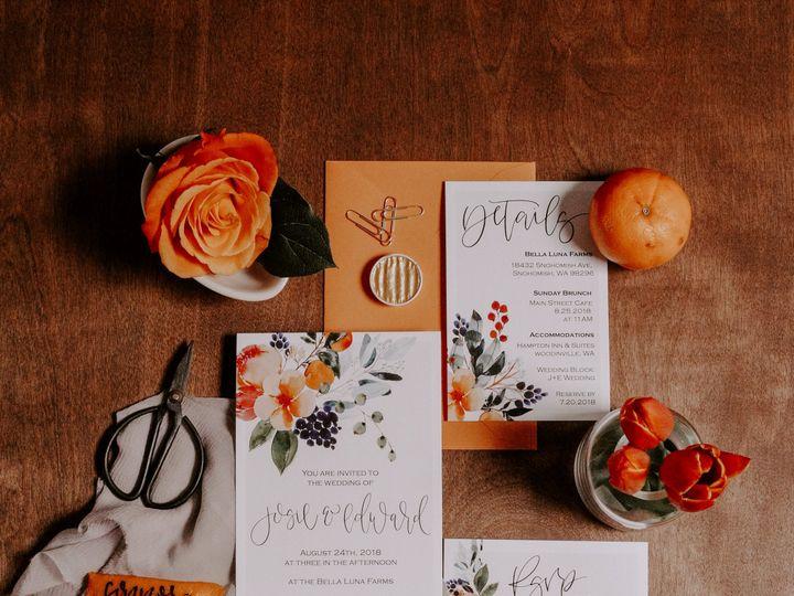 Tmx Citrussummer 1 51 1000231 Seattle, Washington wedding invitation