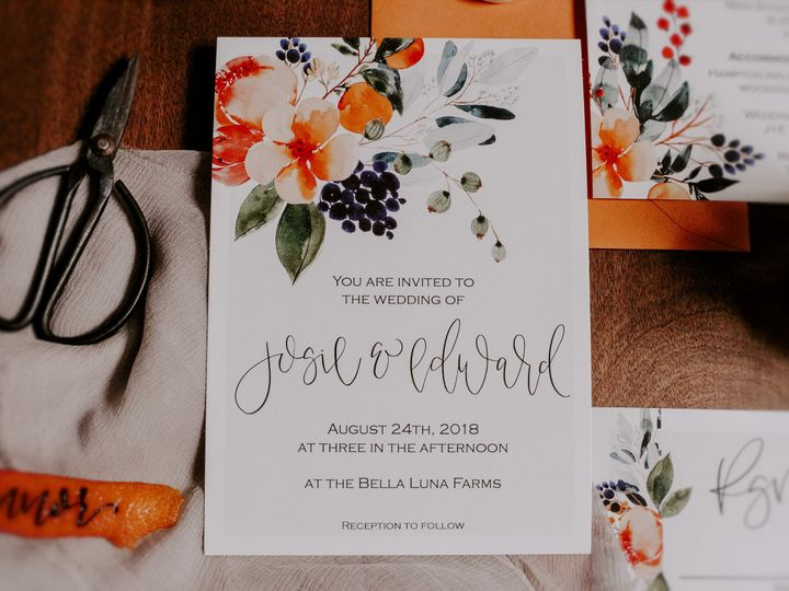 Tmx Citrussummer 3 51 1000231 Seattle, Washington wedding invitation