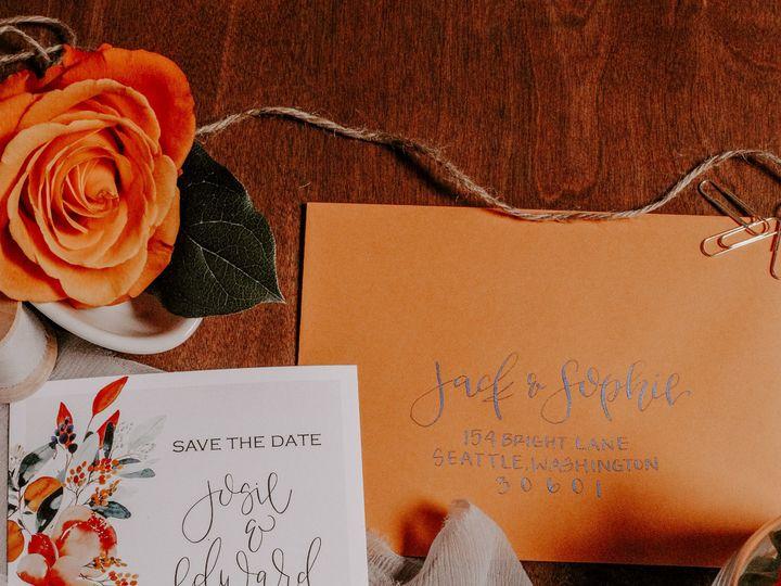 Tmx Citrussummer 4 51 1000231 Seattle, Washington wedding invitation