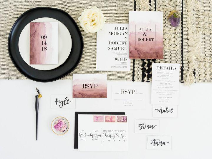 Tmx Love Fern Good 0064 51 1000231 Seattle, Washington wedding invitation