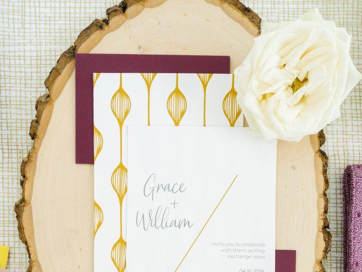 Tmx Love Fern Good 0066 51 1000231 Seattle, Washington wedding invitation
