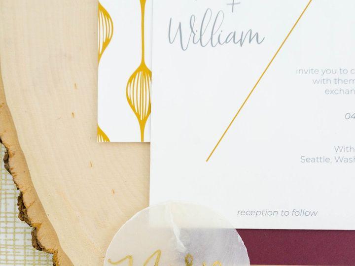 Tmx Love Fern Good 0070 51 1000231 Seattle, Washington wedding invitation
