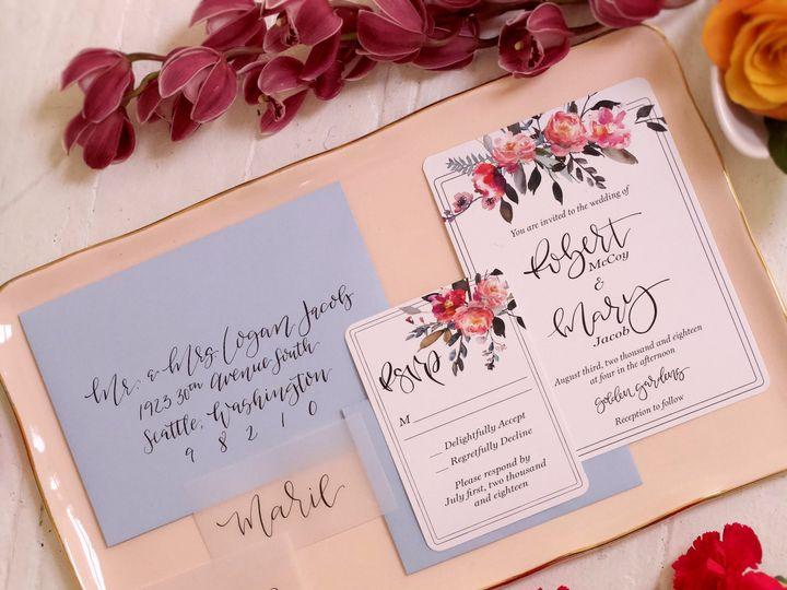 Tmx Lovefern Summerbreeze 51 1000231 Seattle, Washington wedding invitation