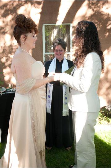 Rev. Gwen. A joyous day.