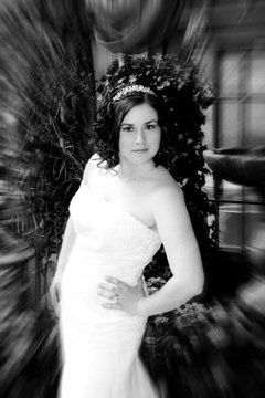 Tmx 1293687475250 Dawnblackandwhite Swartz Creek, MI wedding dress