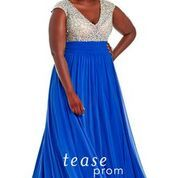Tmx Expressions In Silk Bridal Royal Blue Gown 51 150231 Swartz Creek, MI wedding dress
