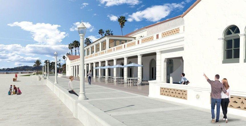 Cabrillo Pavilion rendering