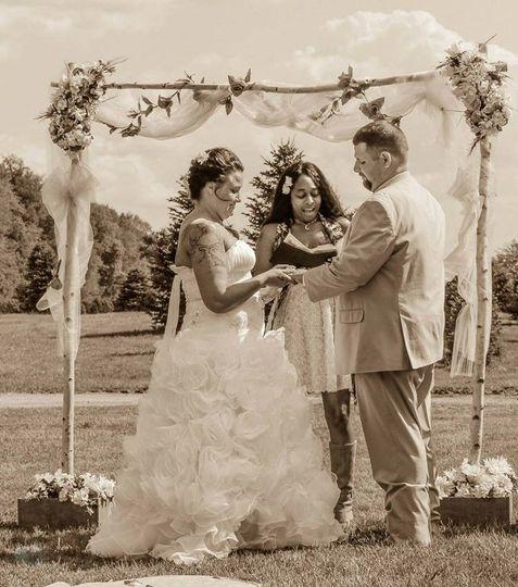 Romantic View Wedding
