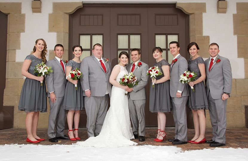 wedding portraits boise train depot