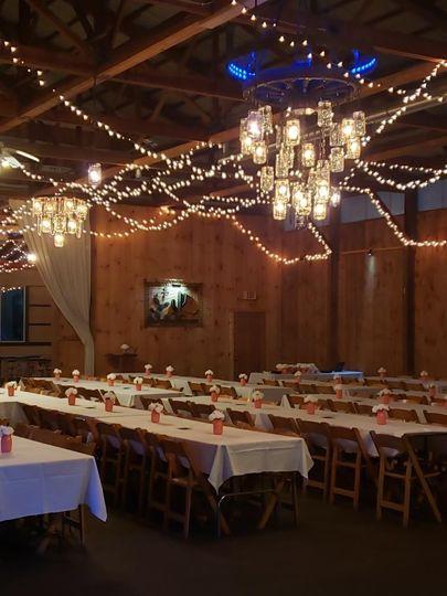 Saloon reception