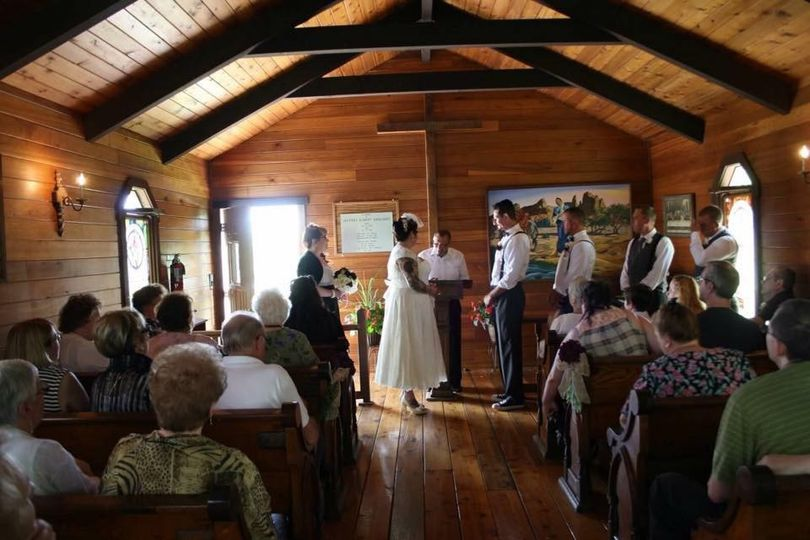 St. Rose Church Wedding