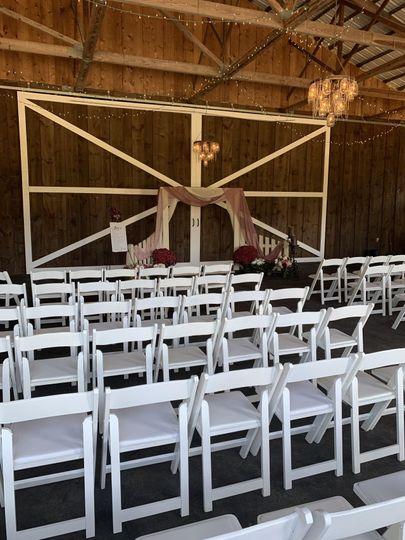 Inside Ceremony Area