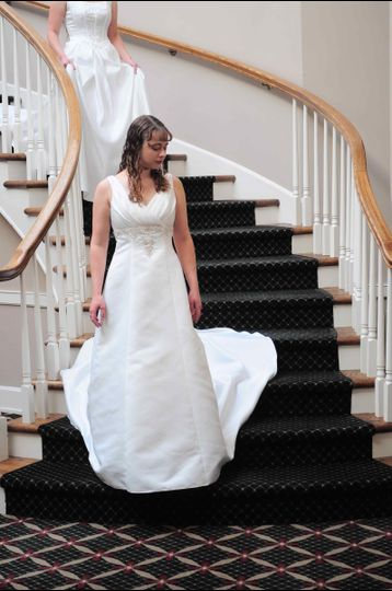 Adorned in grace bridal shop dress attire portland for Portland wedding dress shops