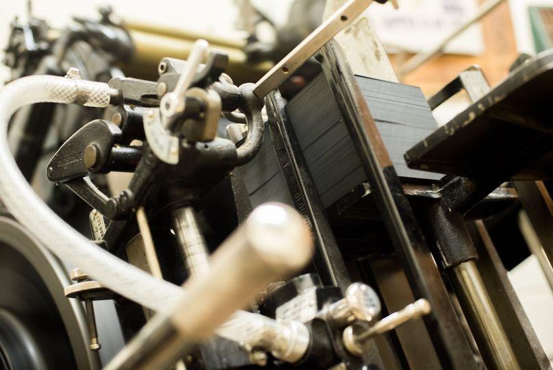 Letterpress press
