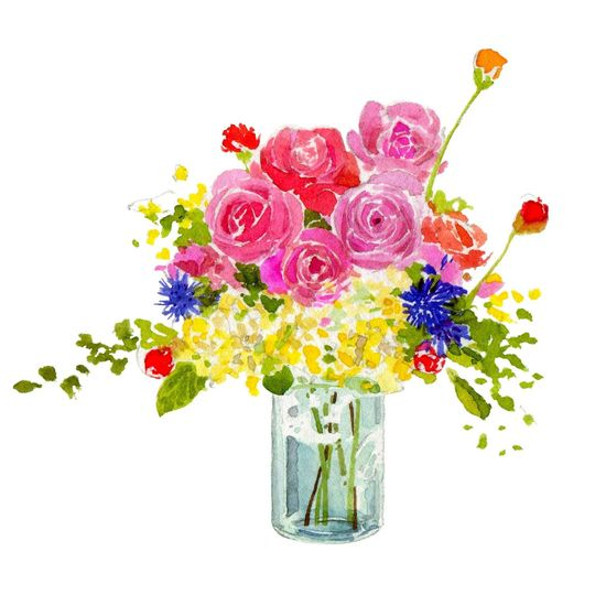 884262b3700edd91 flowers in blue jar beach plum too
