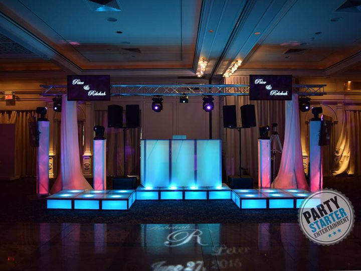 Tmx 1439656115969 Djsetupsubstopslightingstagingledtelevisions Scarsdale, New York wedding dj