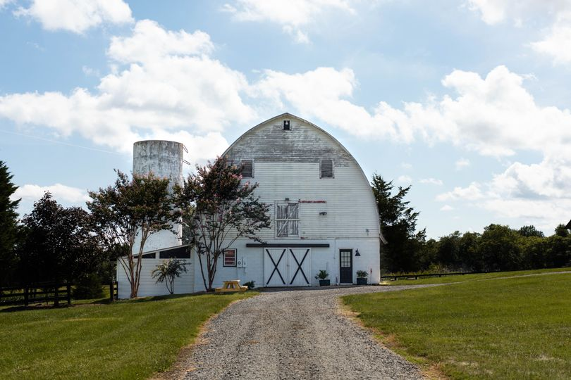 The white barn