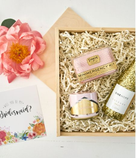 Beautiful wedding party gifts