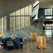 Horizon Hall can seat 150 guests for plated dinners & 120 guests for buffet dinners.