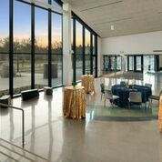 Horizon Hall boasts floor to ceiling windows and access to plazas that open into the gorgeous...