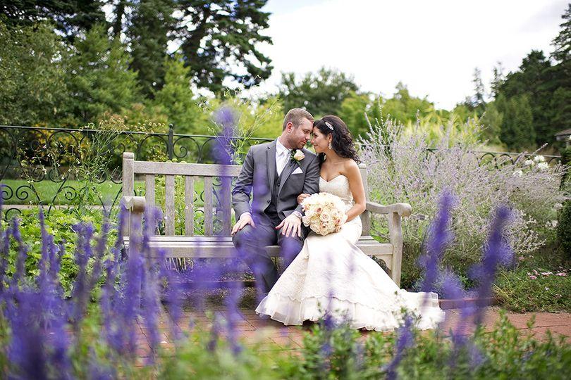wwnew york botanical gardens wedding ashley ther
