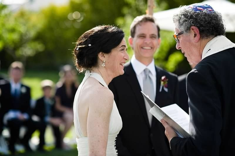 All smiles from the newlyweds