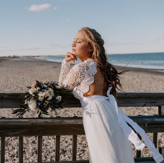 Boston bridal portrait