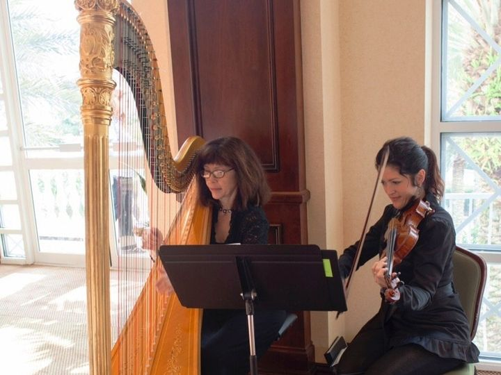 Tmx 1469198691769 Harp  Violin Duet   Hammock Beach Resort Winter Park, FL wedding ceremonymusic
