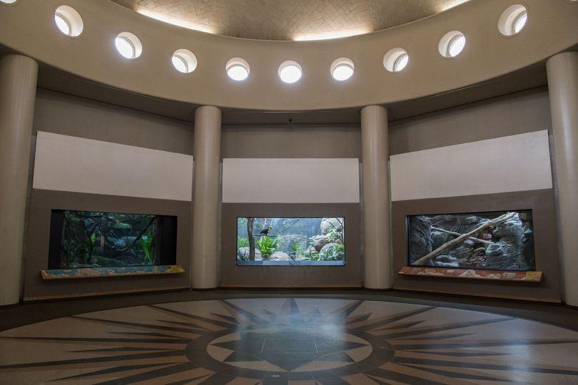 Rotunda indoors