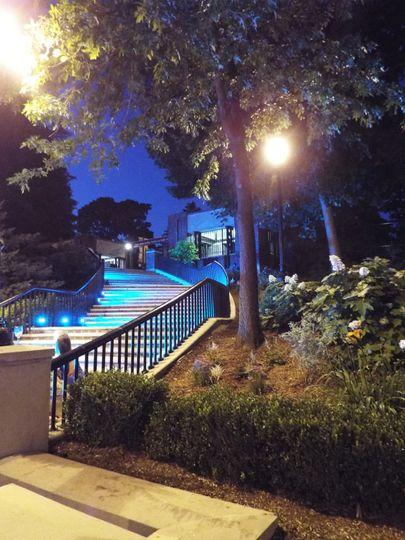 Prospect Park Zoo at night