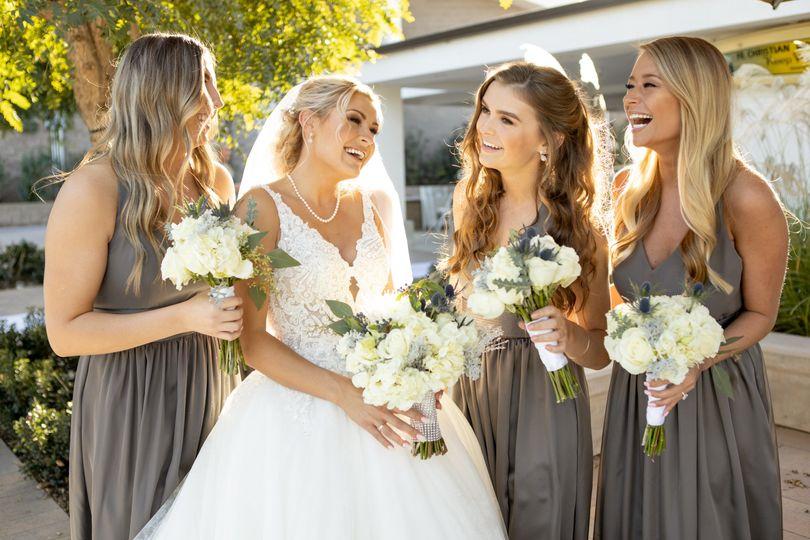 Bride & her Besties