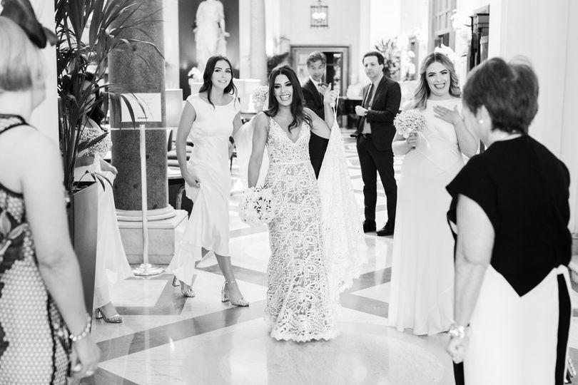 Bridal's arrival