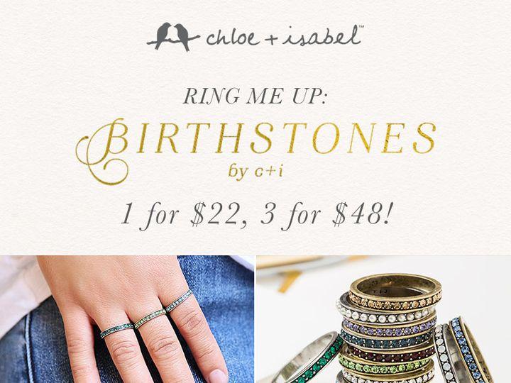 Tmx 1439490984053 Makeitpersonalpricepointbirthstones Saint Louis, MO wedding jewelry
