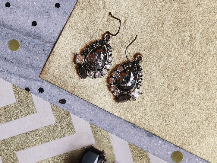 Tmx 1454014014802 Drop Earrings Midnight Palace Saint Louis, MO wedding jewelry