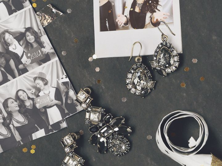 Tmx 1454014055955 Midnight Palace Earrings Saint Louis, MO wedding jewelry