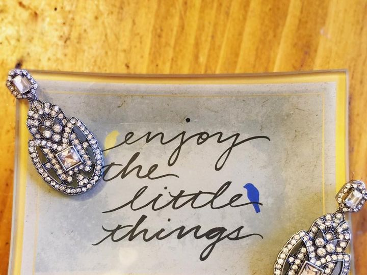 Tmx 1454014181348 Tray With Earrings Saint Louis, MO wedding jewelry