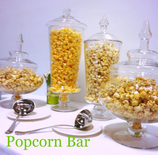 Delicious popcorn bar by Popsations Popcorn Company