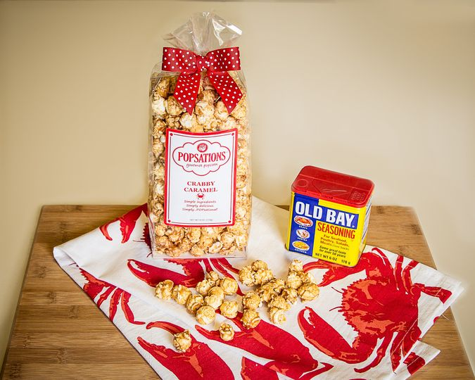 Wedding welcome bag popcorn