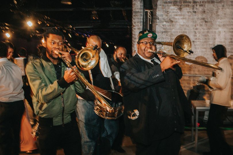 The Soul Rebels second line