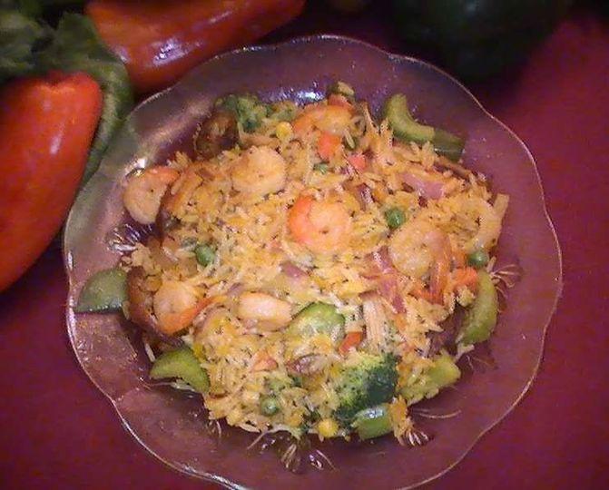 Famous Shrimp Veggie Rice