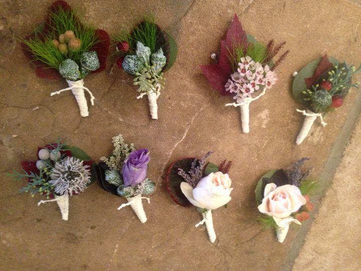 Tmx 1503603797753 Mis Match Boutonnieres Asheville, North Carolina wedding florist