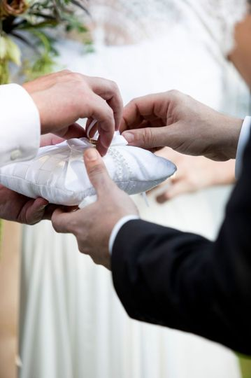Exchanging rings Fine Detailed Photography