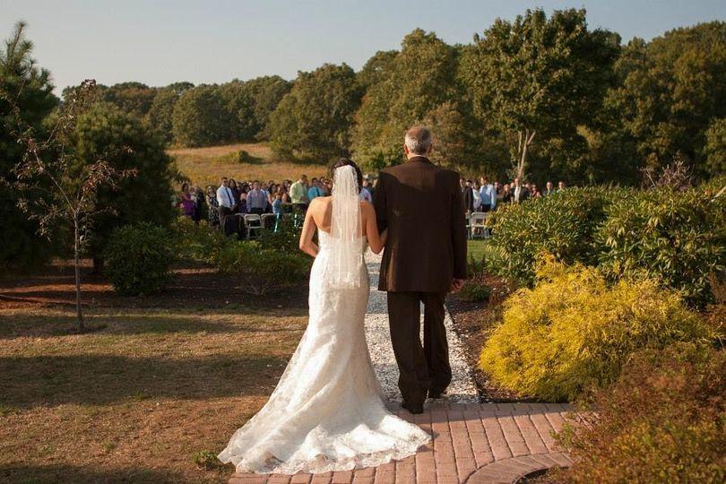 Bride ceremonial walk