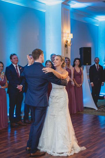 First Dance as Mr. and Mrs.!