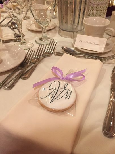 wedding party cookies wire a cookie favors gifts huntington beach ca weddingwire