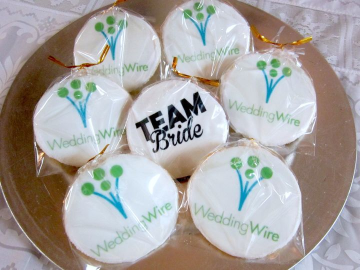 Wedding Party Cookies Wire A Cookie Favors Gifts Huntington