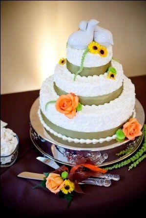 Tmx 1302277898928 WeddingCake1 Sequim wedding cake